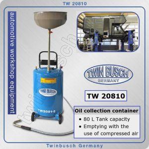 Помпа, за масло, с вана за източване, к-т, 80l, 2Bar, Twin Busch, TW 20810