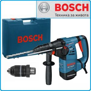 Перфоратор, 800W, SDS-plus, GBH3-28DFR, Professional, Bosch