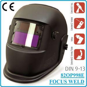 Шлем заваръчен, фотосоларен автоматичен, DIN9-13, Focus Weld, 998E