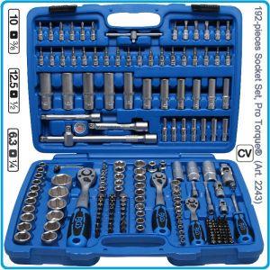 Вложки, к-т, инструменти на 1/4, 3/8, 1/2, гедория, 192 части, BGS, 2243