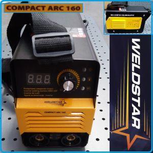 Compact ARC 160, Инвертор, мини, апарат заваръчен, 1.6-3.2mm, WELDSTAR