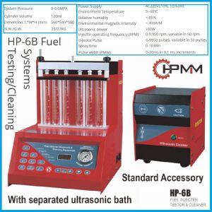 Стенд за горивни инжектори, 6.2Bar, чистене и диагностика, HP-6B, HPMM