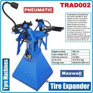 Машина за гуми, разпъвачка пневматична, 0.6Mpa, 220V, Maxwell, TRAD002