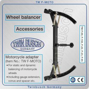 Адаптер за мото гуми, приставка за мотоциклетни джанти, Twin Busch, F-MOTO