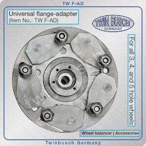 Адаптер универсален за баланс на джанти с 3, 4 или 5 отвора, Twin Busch, F-AD
