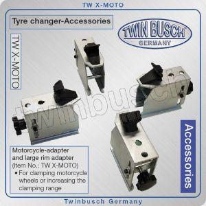 Адаптер за мотоциклетни гуми, преход за монтаж демонтаж, Twin Busch, X-MOTO