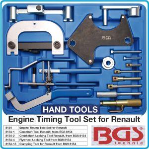 Фиксатори к-т за настройка и регулиране на двигатели Renault, BGS, 8154