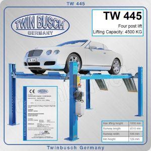 Подемник четириколонен, електрохидравличен крик, 4.5t, Twin Busch, TW 445