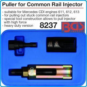 Ключ за дюзи, Common Rail, скоба за инжектори к-т, CDI Mercedes, BGS, 8237