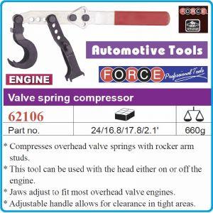 Скоба универсална, за бърза смяна на клапанни пружини, Force, 62106