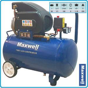 Компресор, бутален, маслен, директен, 50L, 150L/min, 8Bar, Maxwell, FA 1550