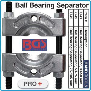 Сепаратор за лагери, скоба за вадене, 3 размера, 30-105mm, BGS, 774-1/9/2