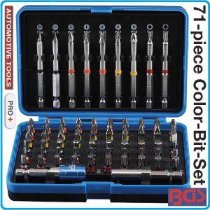 """Накрайници, 6.3mm, битове специални, S2, 1/4"""", к-т 71 броя, BGS, 4815"""