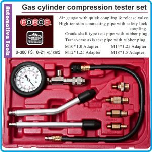 Компресомер бензинов, 8 части, за двигатели, к-т, 21Bar, Force, 908G1