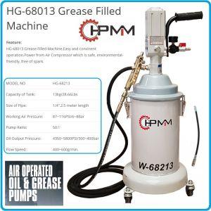 Такаламит, грес помпа пневматична, мобилна, 50:1, 13kg, HPMM, HG-68213