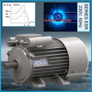 Електромотор монофазен за компресор, 230V, 2.2kW, Elprom, ESP90L