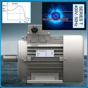 Електромотор трифазен за компресор, 400V, 2.2-7.5kW, Elprom, T90-T132