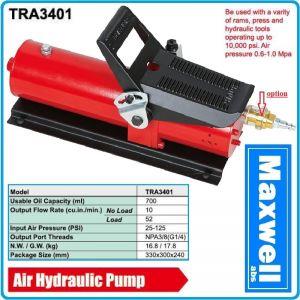 Помпа пневмо - хидравлична за преси, крикове и подемници, 70Mpa, 700Bar, Maxwell, TRA3401