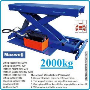 Крик канален, пневмохидравличен, подвижен, мостов, 2t, Maxwell, W2000Q