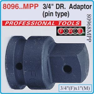 """Адаптор с щифт ударен, Преход усилен, 3/4""""(F)x1""""(M), Force, 80968MPP"""