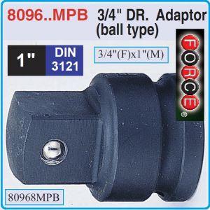 """Адаптор със сачма ударен, Преход усилен, 3/4""""(F)x1""""(M), Force, 80968MPB"""