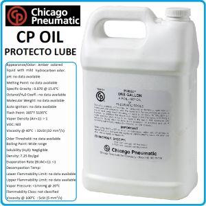 Масло за пневматични инструменти, смазка, 5.0L, Chicago Pneumatic, 8940176599