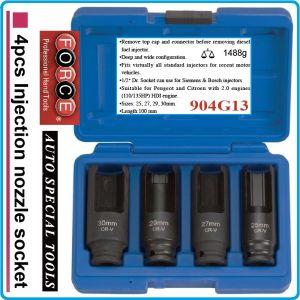 """Ключове за дюзи специални, к-т 4 броя на 1/2""""- от 25-30mm, h100mm, Force, 904G13"""
