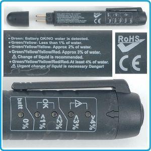 Тестер за спирачна течност, 0-4%, LED индикатор, 1.5V - AAA, Force, 88502