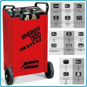 Зарядно, стартерно, устройство, 12-24V, 70-4000Ah, Telwin, E1500S