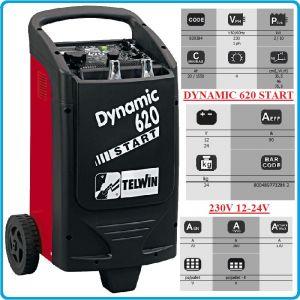 Зарядно, стартерно, устройство, 12-24V, 20-1550Ah, Telwin, D620S