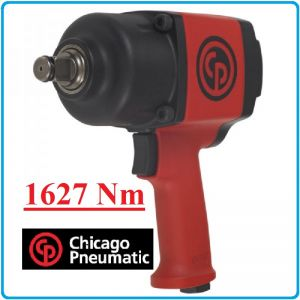 "Гайковерт, Пневматичен, Ударен, 3/4"", 1630 Nm, Chicago Pneumatic, CP7763"