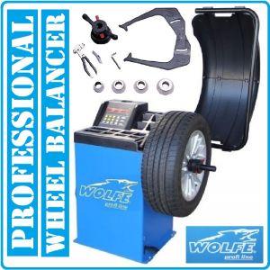 """Баланс машина, за гуми, автоматична, 10""""-24"""", 230V, Wolfe, W520"""