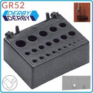 Поставка за свредла, стелаж, дисплей, 95x65mm, PVC, Derby, GR52