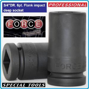"""Вложка ударна дълга, усилена, 20mm, 20 размера, 19-65mm, 3/4"""", Force, 465100"""