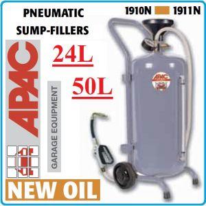 Помпа, за масло, пневматична, шприц, за наливане, 24L, или 50L, Apac
