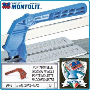 Ръкохватка, резервна, за  машини, 26-43А2, 120x280mm, Montolit, 264B