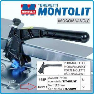 Ръкохватка, резервна, за машини, 75-155P/P2/P3, 12mm, Montolit, 445P12
