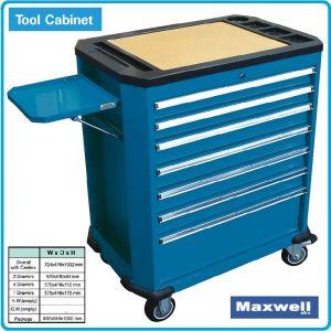 Количка, за инструменти, НЕ, оборудвана, 7отд, Maxwell, TBR9007B-X