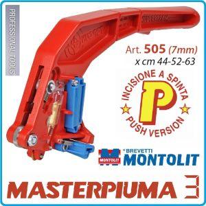 Ръкохватка, резервна, за машини 44-63P/P2/P3, 7mm, Montolit, 505