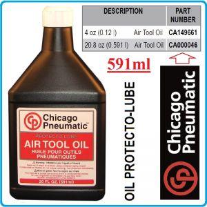 Масло, за пневматични инструменти, 0.6L, Chicago Pneumatic, CA046