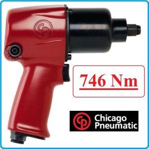 "Гайковерт, Пневматичен, Ударен, 1/2"", 750 Nm, Chicago Pneumatic, CP7733"