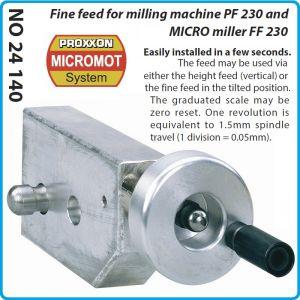 Механизъм, редуктор, за микро фреза, FF230 и PF230, Proxxon, 24140