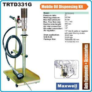 Помпа, за масло, пневматична, мобилна, 60kg, Maxwell, TRTD331G