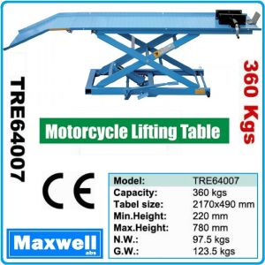 Подемник, за мотоциклети, крик, платформа, 360Kg, 780mm, Maxwell, 64007