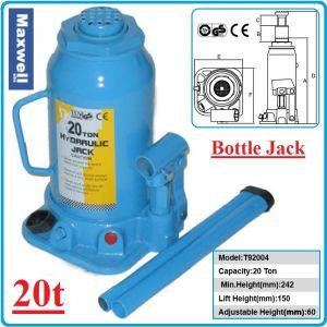 Крик, хидравличен бутилков, 20 ton, Maxwell, T92004