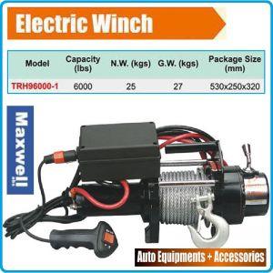 Лебедка електрическа 12V, 2720kg, 6000Lbs, Maxwell, TRH96000
