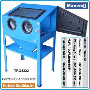 Пясъкоструйка камера, Бластиращ апарат, к-т, 220L, 710l/min, Maxwell, 4222