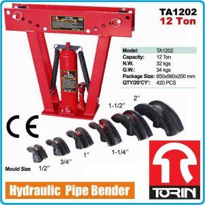 Тръбогиб, хидравличен, тръбоогъвач, ръчен, 12t, TonGrun, TA1202