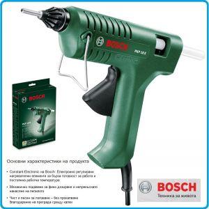 Пистолет за топло лепене със силикон, 200W, 200°C, Bosch, PKP18E