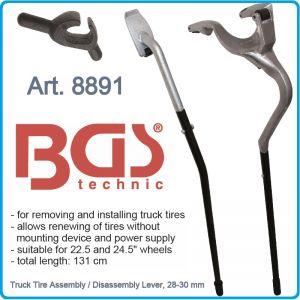 Щанги, лостове, за товарни гуми, к-т, 3части, 28-30mm, 1310mm, BGS, 8891